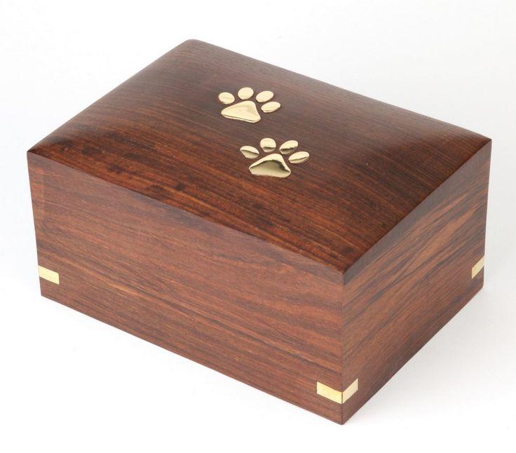 Urns UK Wooden Pet Cremation Urn for Ashes, Elstree: Amazon.co.uk: Amazon Warehouse Deals
