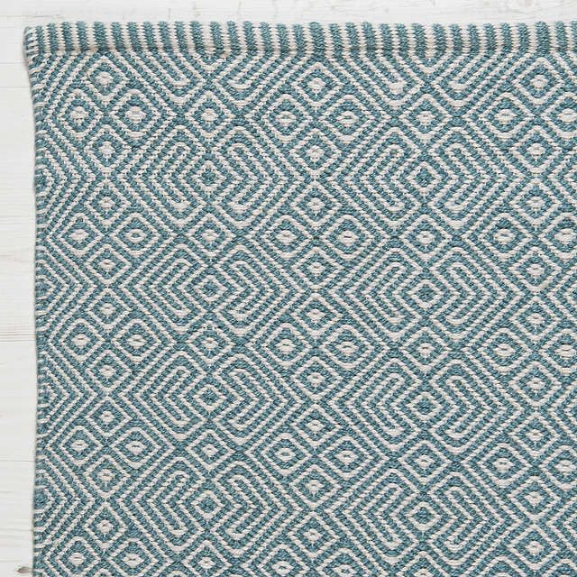 Weaver Green Provence Collection Rug, Teal,
