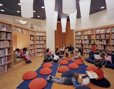Robin Hood Library :: P.S. 32 | Billie Tsien Todd Williams