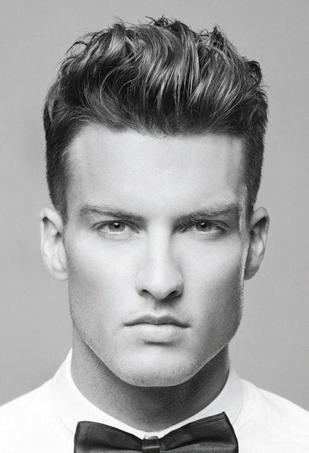 Such a fun hair cut. be bold boys, eventually you wont be able to do this with your hair.