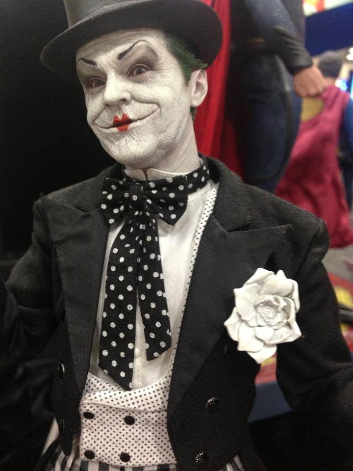 Batman: The Joker (Jack Nicholson version) #cosplay #batman #joker dead on!!!!