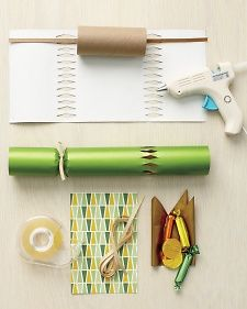 How to Make a Traditional Paper Christmas Cracker