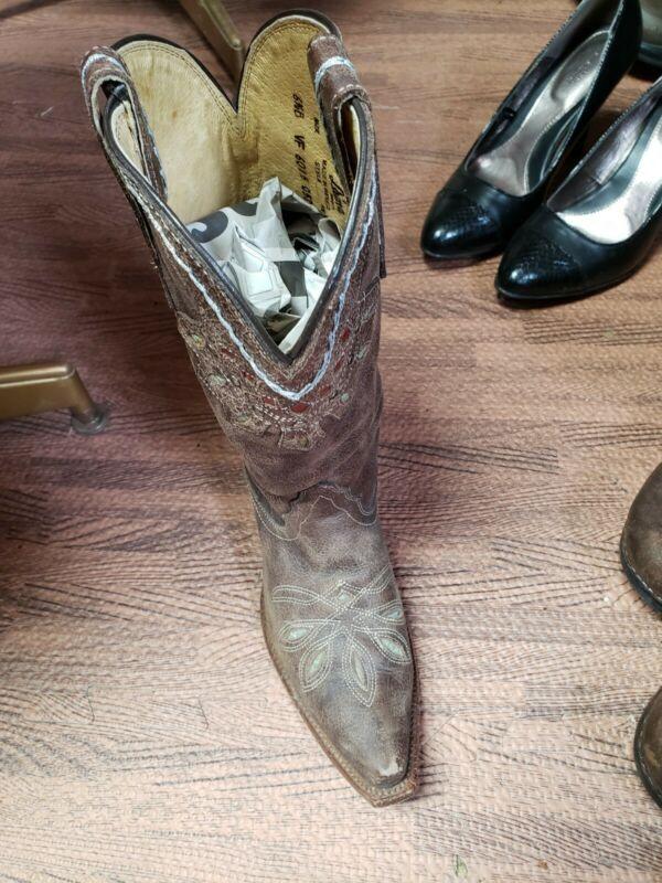 Tony Lama Womens Boots Size 61/2B
