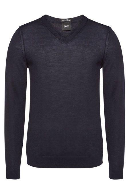 a9ad7c1fd BOSS Melba Virgin Wool Pullover in 2019 | STYLEBOP New Arrivals Men ...