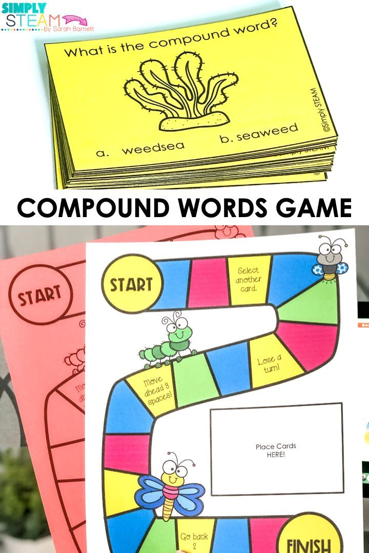 Rhyming Words Word Sorts Jolly Phonics Compound Words Letter Sounds Word Families Language Arts Educat In 2020 Compound Words Activities Compound Words Word Activities