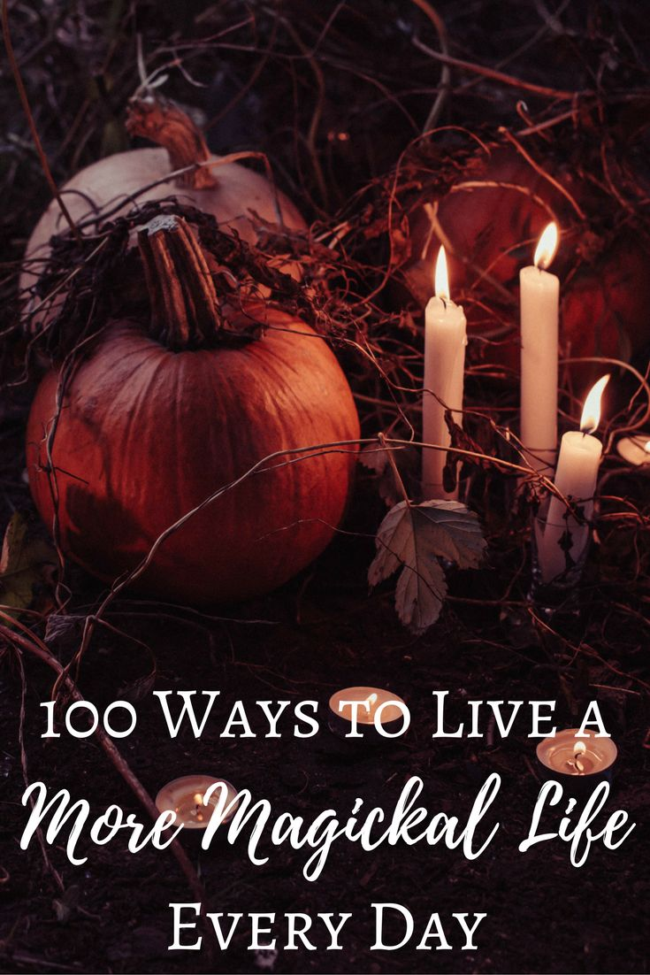 100 Ways to Live a More Magickal Life Every Day | The Witch of Lupine Hollow Such sweet, simple little tasks that promote positivity. I love it!