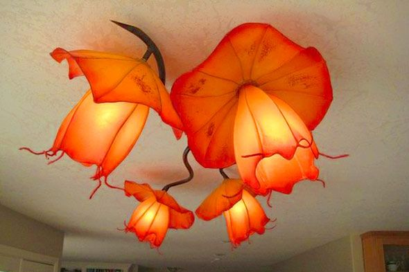 whimsical chandelier by CustomMade artisan HiiH Lights