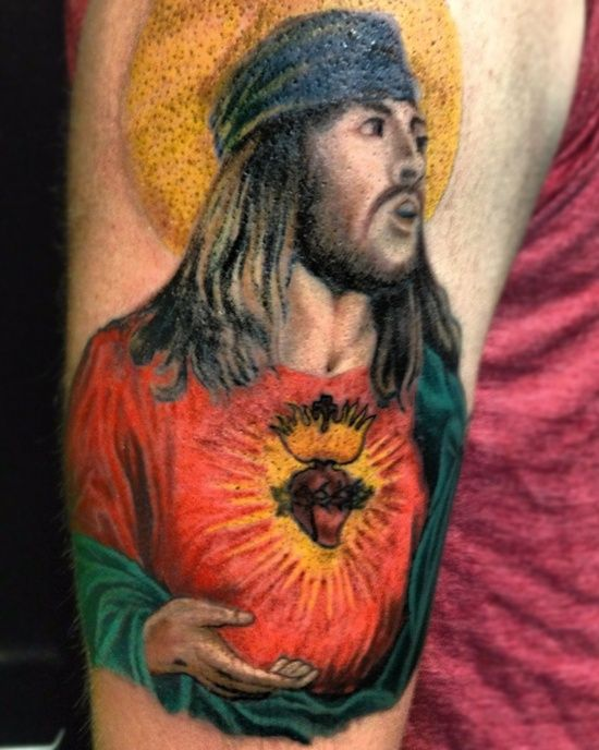 24 best images about jesus tattoo designs on pinterest for Tattoos good or bad bible