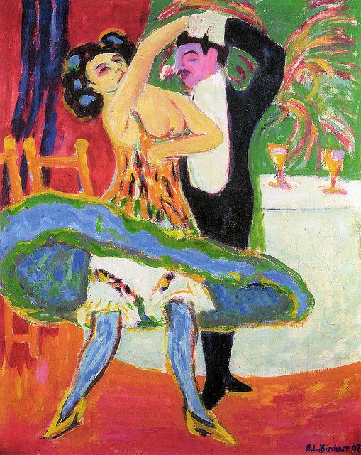 Ernst Ludwig Kirchner - Variete, 1910