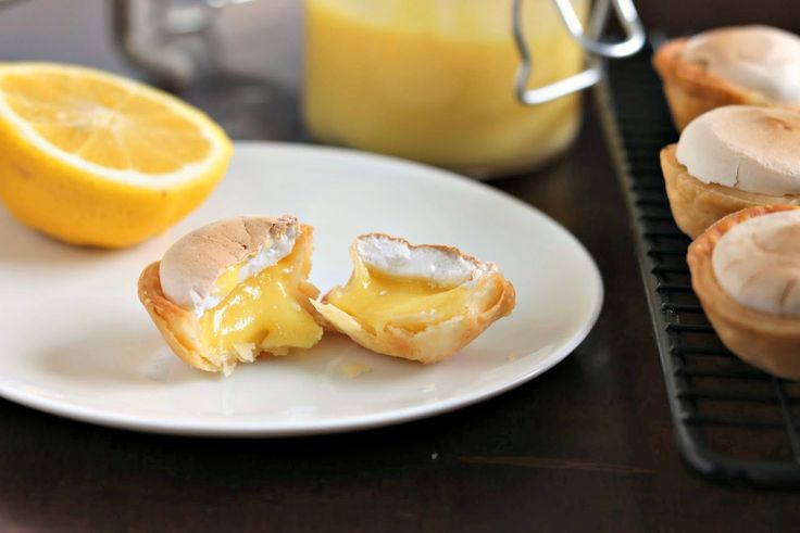 Mini Lemon Meringue Pies via @kyleecooks