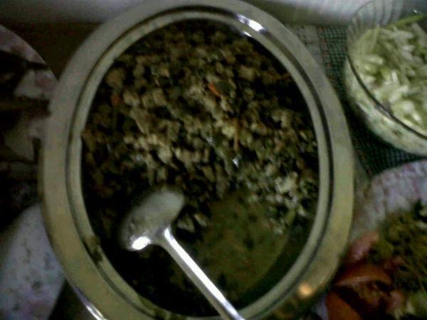 KULINER] Sayur lombok ijo; khas Keluarga Mashuri (@ Rumah Keluarga Heru Setiawan)