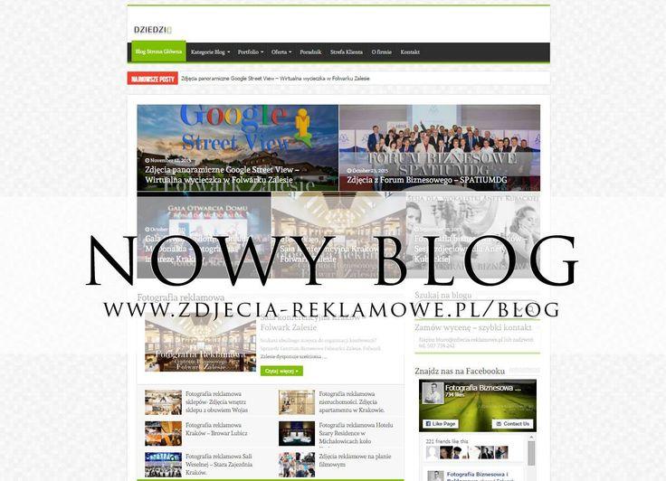 Multum informacji, niesamowite realizacje, wszystko na nowym blogu www.zdjecia-reklamowe.pl/blog