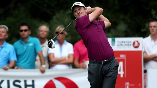 Justin Rose to meet Lee Westwood in World Golf Final