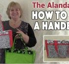 Free step by step sewing pattern and tutorial from the Inspired Wren for how to make this sturdy and hard-wearing lined canvas tote bag. We love this bag because of the way it's constructed with the handles securely held within the base and sides of the bag, not just sewn into the top. Because the …