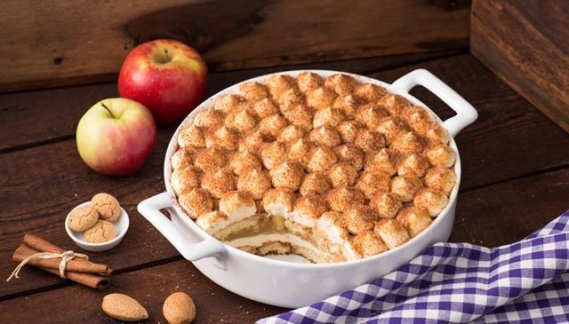 So lieben wir Tiramisu im Winter: Rezept für Bratapfel-Tiramisu - der beliebte Nachtisch in einer köstlichen Variante.