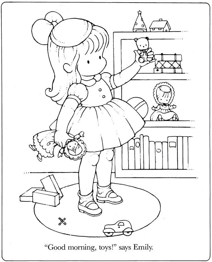 Good Morning Toys Kids ColoringAdult