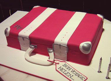 62 best Suitcase Cakes images on Pinterest | Suitcase cake ...