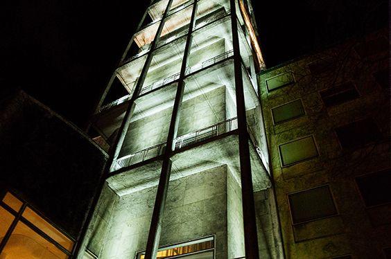 Raadhustaarnet i Aarhus, night photo, natfoto
