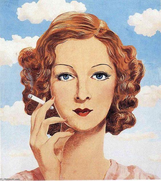 Georgette Magritte, 1934 de Rene Magritte (1898-1967, Belgium)