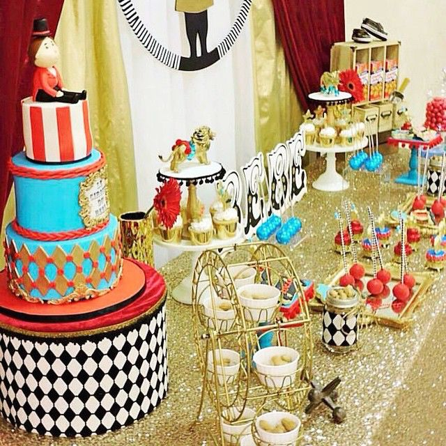 "Baby Shower Themes For Girls Pinterest: ""Cirque Du Bebe"" Baby Shower"