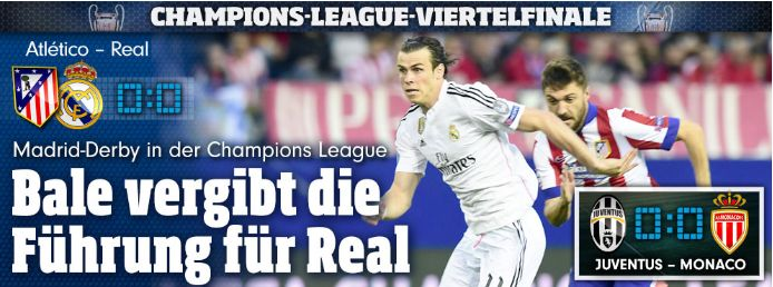 2014 I prayed for Real->#Real won #Championsleague! 2015 didnt pray:#Real 4x lost,2x draw vs Atletico! Today I awarely dont want to pray+curious,who wins ;-) ShortAfter I made #Real won, Bro+newspapers said:Atleti has a lot sympathy,coz dont buy best soccer players,but trained the players theirself like VfB,not like Real+FC Bayern! -> Let Atletico vs Real play w/o my #prayer lol! Same,why I pray only for some,beside no time,otherwise not #soccer anymore lol