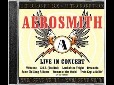 Aerosmith Live in Concert Ultra Rare Trax - YouTube