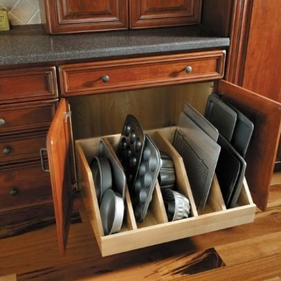 Love this idea for my stones!! And Muffin Pans Kitchen Cabinets