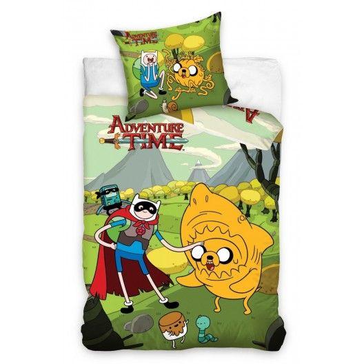 Dětské povlečení Adventure Time - dumdekorace.cz