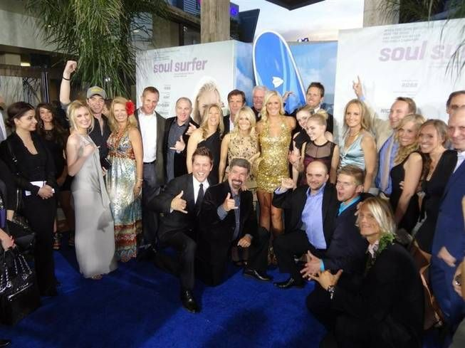 Actress In Soul Surfer: The Opening Night Of Soul Surfer This Is The Casts