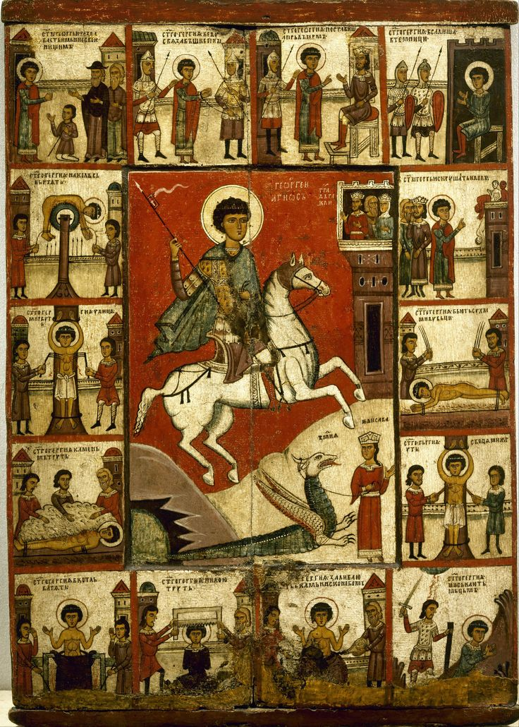 St. George - Novgorod, early 14th century.