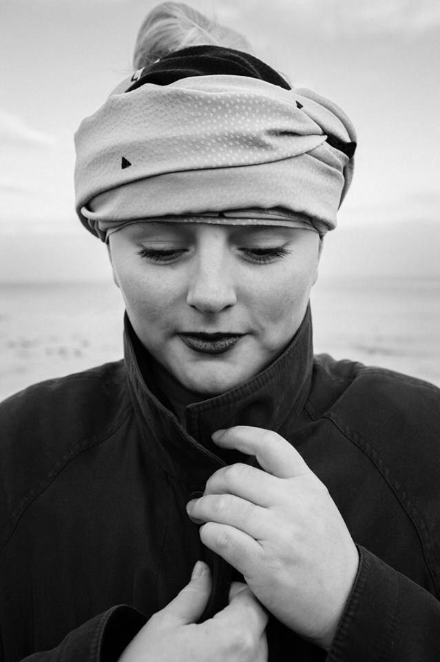 Photo by Justine Høgh www.justine-hoegh.dk, scarf designed by Bente Hammer, model: rebecca Marx (me)