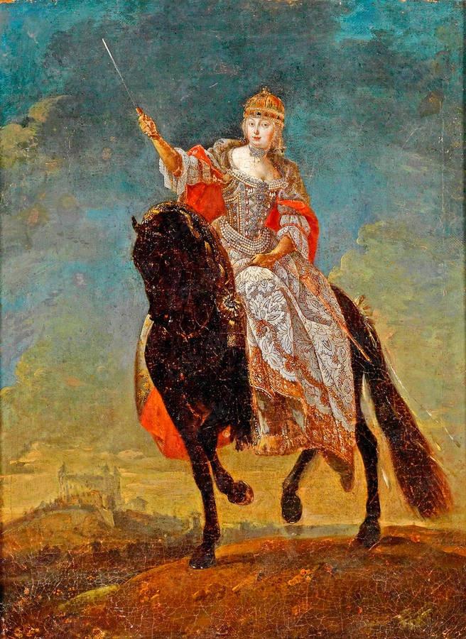 Mária Terézia: Jej dvorné stajne zásoboval práve kopčiansky žrebčín.
