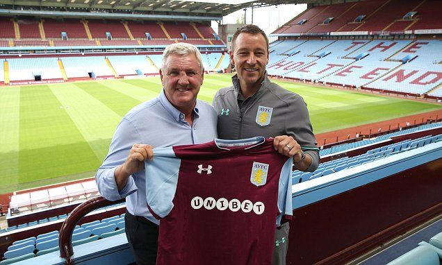 Terry admits dream of managing Chelsea as he joins Villa