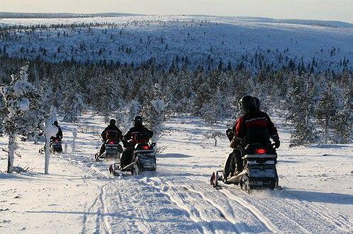 Séjour en Laponie finlandaise mi-février 2015 - Voyage Forum