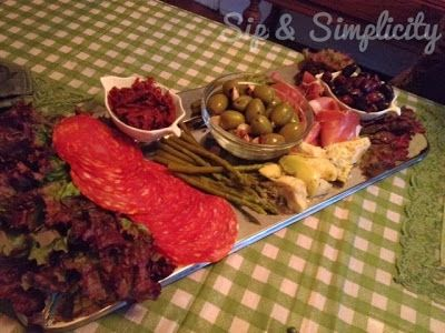 Sip and Simplify: Date Night Antipasto Platter