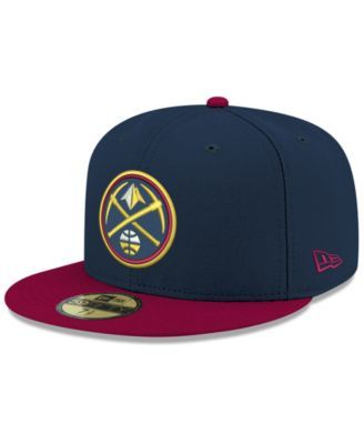 Superman Classic Symbol on Navy New Era 59Fifty Fitted Hat Blue
