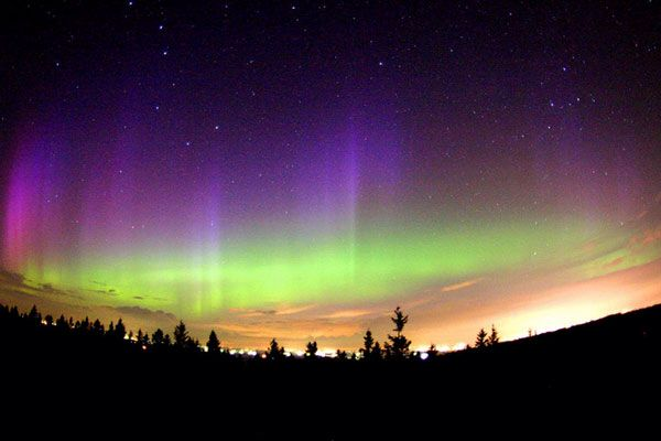 See the northan lights