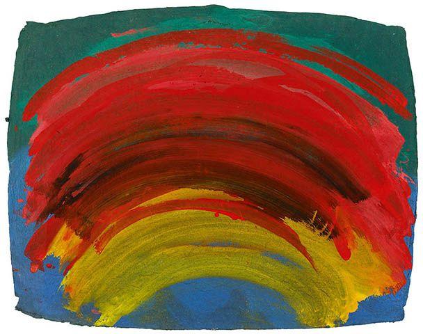 Indian Waves · Artworks · Howard Hodgkin
