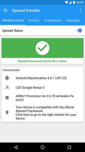 Xposed Installer v3.1.1  Framework v87 [Unofficial Nougat MR1]   Xposed Installer v3.1.1  Framework v87 [Unofficial Nougat MR1]Requirements:Android 7.0 |ROOTOverview:Xposed for Lollipop/Marshmallow is finally here!  Downloads:XposedInstaller_3.1.1.apkfrom this thread: Must be installed to manage installed modules the framework won't work without it.Framework xposed.zipMust be flashed with a custom recovery (e.g. TWRP) to install the framework. SDK21 is Android 5.0 (Lollipop) SDK22 is Android…