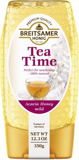 About the Product - Acacia honey is one of most popular honeys that tastes just great on bread as well as sweetener for tea, fruit salads, and muesli - Premium quality - Made in Germany - No spoon nee