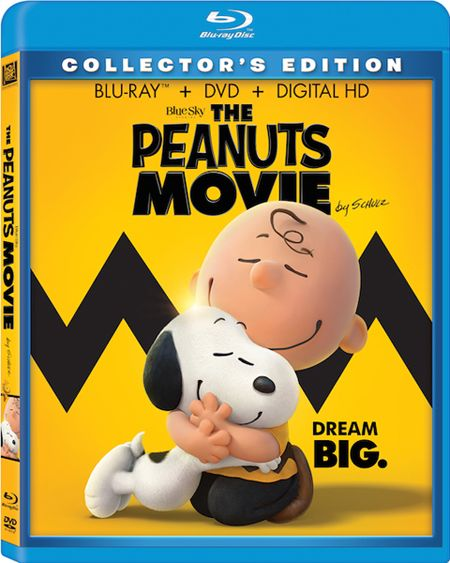 THE PEANUTS MOVIE Blu-ray and Snoopy Plush Gift Set Giveaway