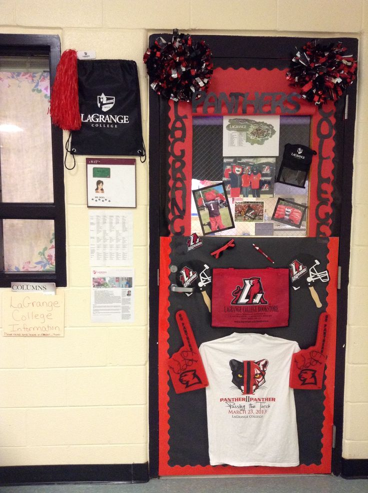 Classroom Decorating Ideas Middle School ~ Best college door decorations ideas on pinterest