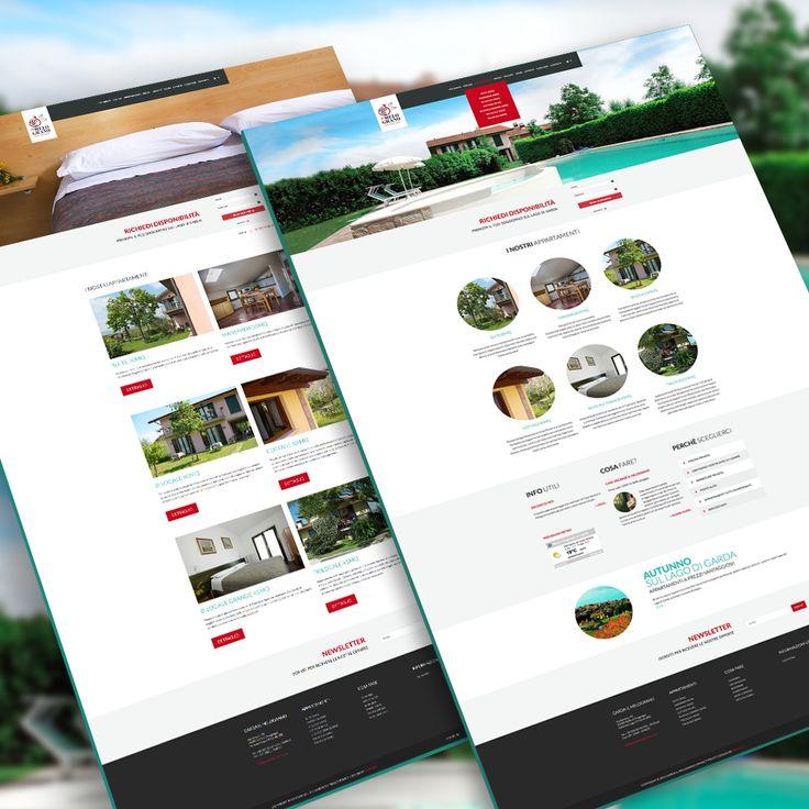 Casa #vacanze Il Melograno, lago di Garda #webdesign #turismo #GardaLake #Brescia