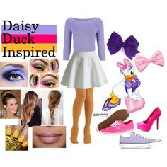 Image result for minnie mouse and daisy duck costumes