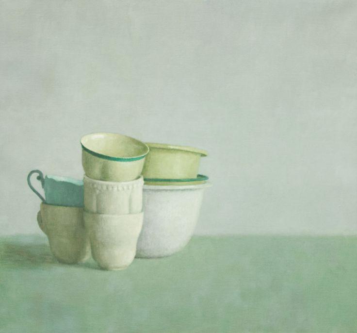 'Still Life No. 16' by Australian painter Jude Rae (b.1956). via Australian Art Auction Records