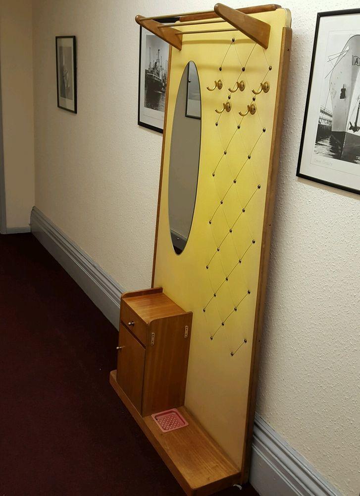 Vintage Retro teak Hall Coat Stand in Home, Furniture & DIY, Storage Solutions, Clothes Rails & Coat Stands   eBay