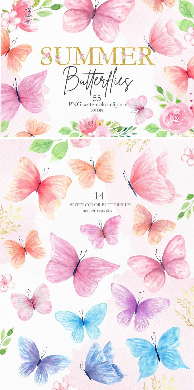 55 separate png element diy cliparts for wedding invitation greeting card planner and sticker creative products for d