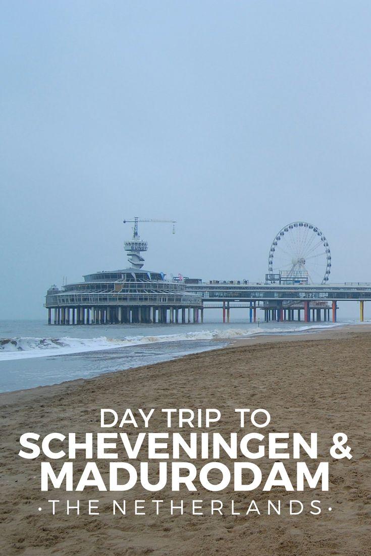 A winter's day trip to Scheveningen and Madurodam in Den Haag (the Hague), Netherlands.