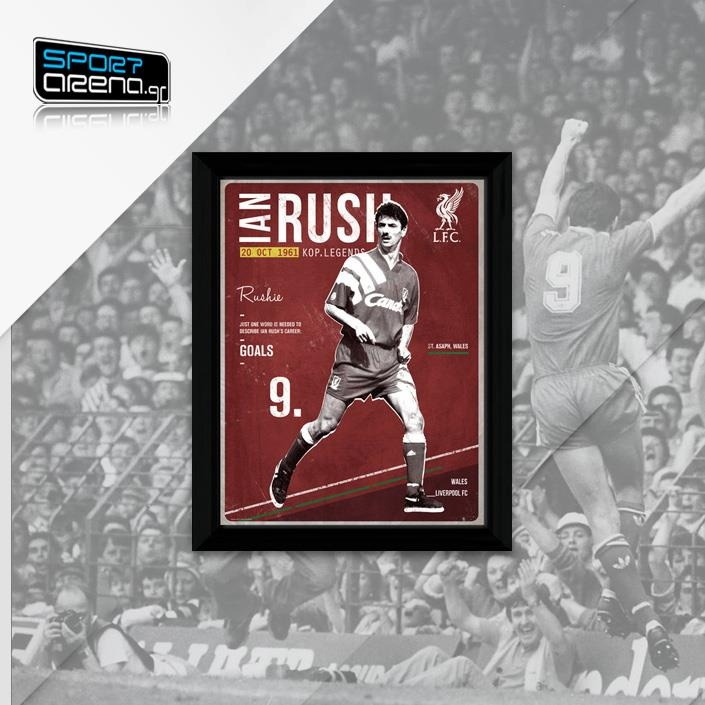 Ian Rush framed picture   http://www.sportarena.gr/en-us/eur/liverpool/liverpool?product=13397_source=pinterest.com_medium=referral_content=IanRushFrame13397_campaign=Pinterest