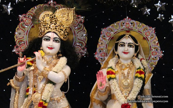 To view Radha Krishna Close Up  Wallpaper of ISKCON Chennai in difference sizes visit - http://harekrishnawallpapers.com/sri-sri-radha-krishna-close-up-iskcon-chennai-wallpaper-010/